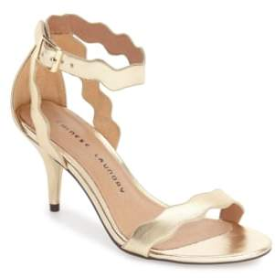 Chinese Laundry 'Rubie' Scalloped Ankle Strap Sandal