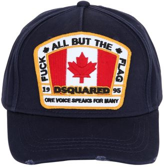 Distressed Logo Patch Canvas Hat $130 thestylecure.com