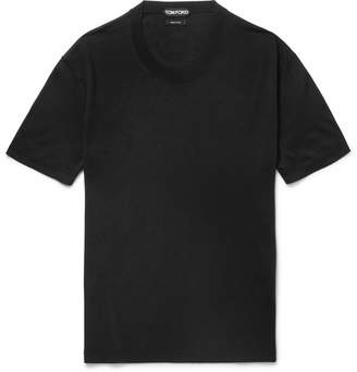 Tom Ford Silk-Jersey T-Shirt