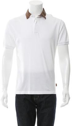 Gucci Bicolor Polo Shirt $175 thestylecure.com