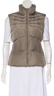 ADD Stand Collar Zip-Up Vest