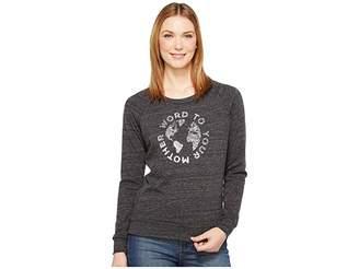 Alternative Eco Slouchy Pullover Women's Sweatshirt