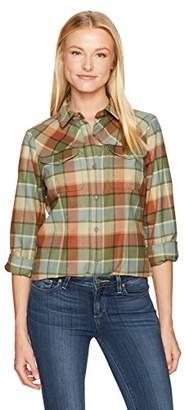 Pendleton Women's Christina Ultrafine Merino Wool Plaid Shirt