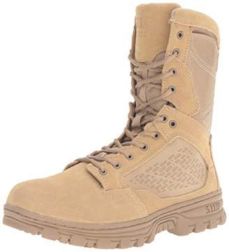 "evo 5.11 Men's 8"" Desert Side Zip Boot Military & Tactical"