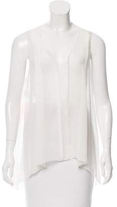 Philosophy di Alberta Ferretti Silk A-Line Top w/ Tags