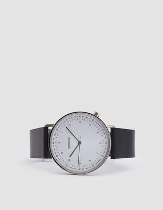 Komono Lewis Watch in Black