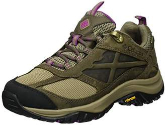 Columbia Women's Terrebonne Outdry Low Rise Hiking Boots, Brown (Pebble/Intense Violet), 39 1/2 EU