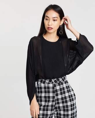 Mng Textured Alas Blouse