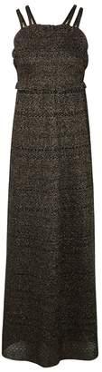 M Missoni Gold Fine-knit Dress