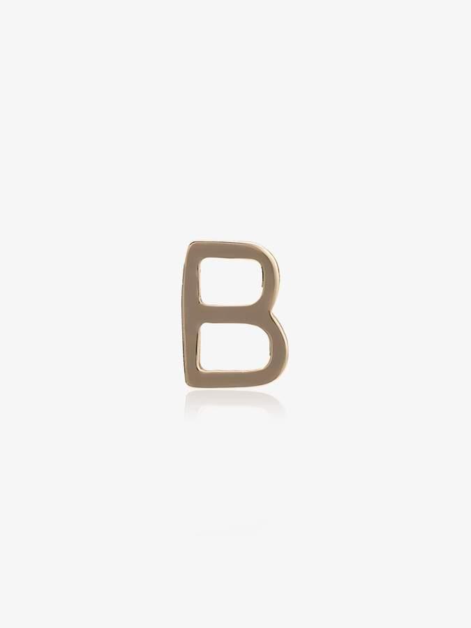 Loquet B letter charm
