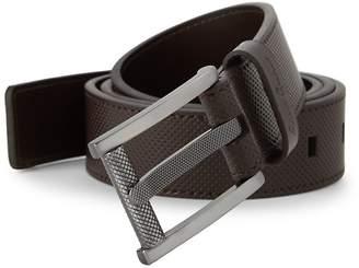 Robert Graham Men's Textured Leather Belt