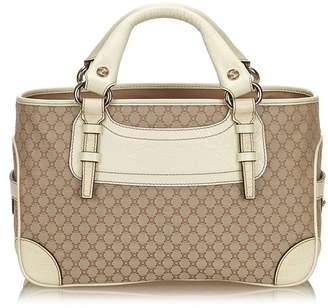 Celine Vintage Macadam Jacquard Boogie Bag