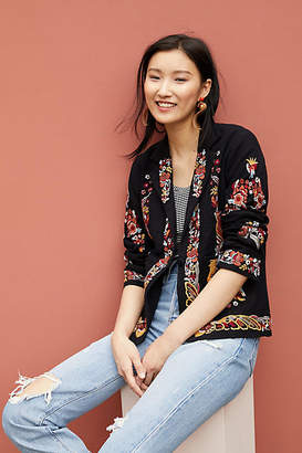Maeve Ellen Embroidered Blazer