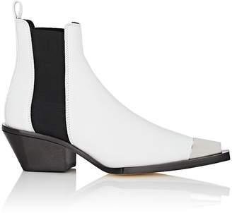 Helmut Lang Women's Leather Cowboy Chelsea Boots