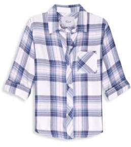 Rails Little Girl's& Girl's Hudson Plaid Top