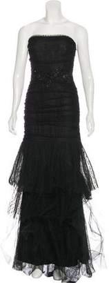 Marchesa Lace Maxi Dress w/ Tags