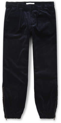 Givenchy Tapered Cotton-Corduroy Trousers