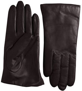 Lord & Taylor Cashmere-Lined Leather Gloves $72 thestylecure.com