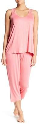 Tahari Racerback & Capri Pajama 2-Piece Set