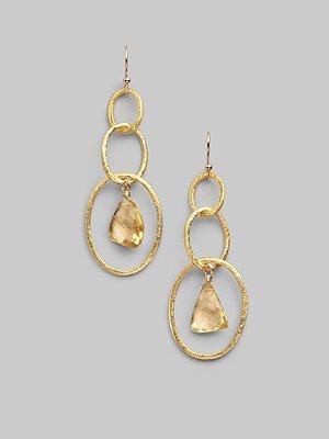 Alexis Bittar Triple Link Drop Earrings