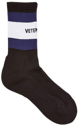 Vetements x Tommy Hilfiger Printed Socks with Cotton