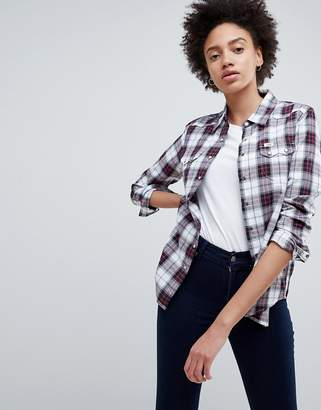 Lee Jeans Regular Fit Western Check Shirt