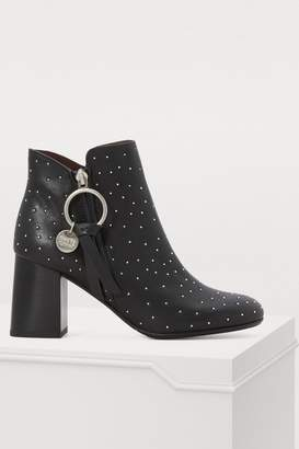 See by Chloe Louise ankle boots