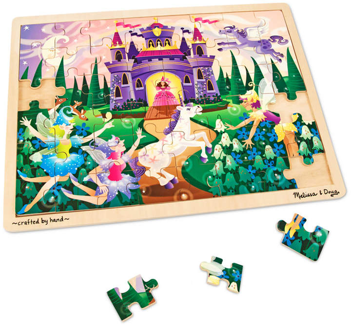 Melissa and Doug Kids Toy, Fairy Fantasy 48-Piece Jigsaw Puzzle