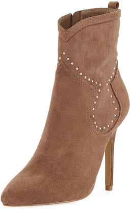 Charles by Charles David Plot Studded Suede Booties
