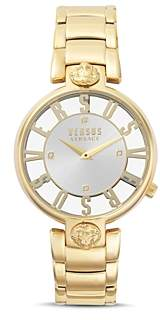 Kristenhof Gold-Tone Link Bracelet Watch, 34mm