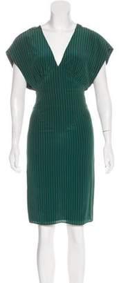 Vena Cava Striped Knee-Length Dress