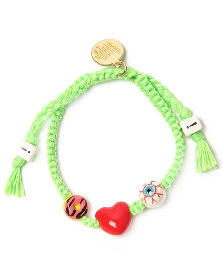 Venessa Arizaga 'I love donuts' bracelet