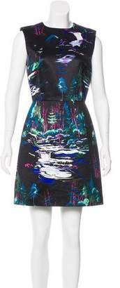 Balenciaga Printed Sleeveless Mini Dress w/ Tags