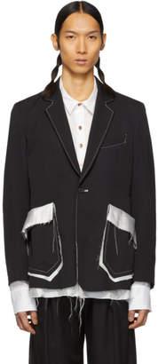 Sulvam Black Short Blazer