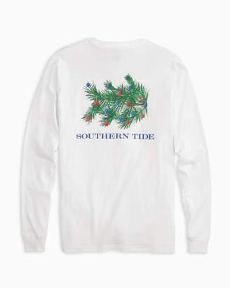Southern Tide Skipjack Christmas Tree Long Sleeve T-Shirt