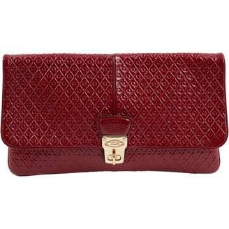 Tod's Red Patent leather Clutch bags