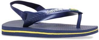 Havaianas Baby Brazil Logo Flip Flops