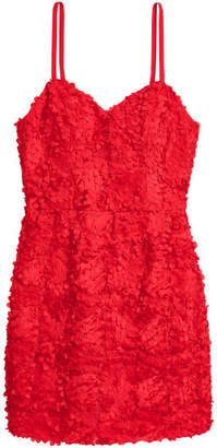 H&M Fitted Dress - Red