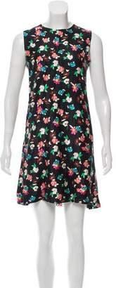 Thom Browne Floral Mini Dress
