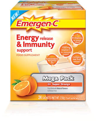 Emergen-C Orange Pack (Mega Pack 24 Servings)