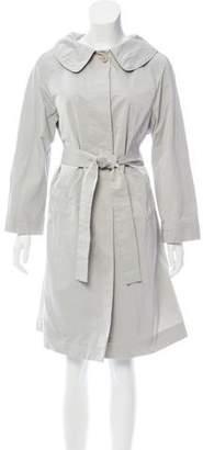 Alberta Ferretti Pleated Button-Up Jacket
