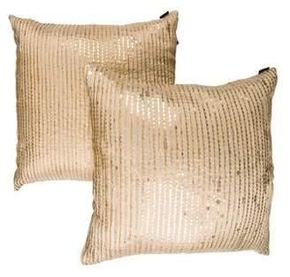 Ankasa Pair of Sequin Throw Pillows