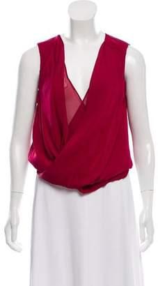 Diane von Furstenberg Silk Sleeveless Top