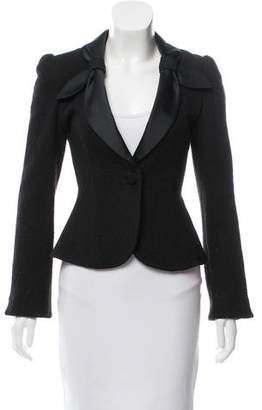 Armani Collezioni Structured Wool-Blend Blazer