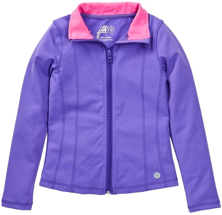 Jill Yoga Yoga Jacket (Toddler & Little Girls)