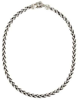 David Yurman Diamond Buckle Necklace