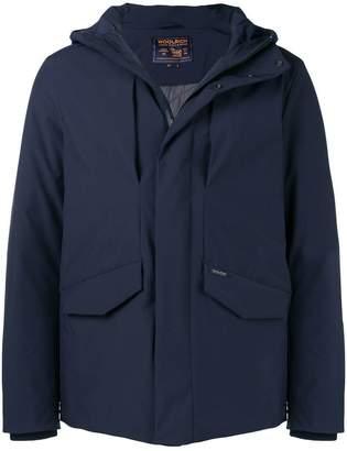Woolrich hooded shell jacket