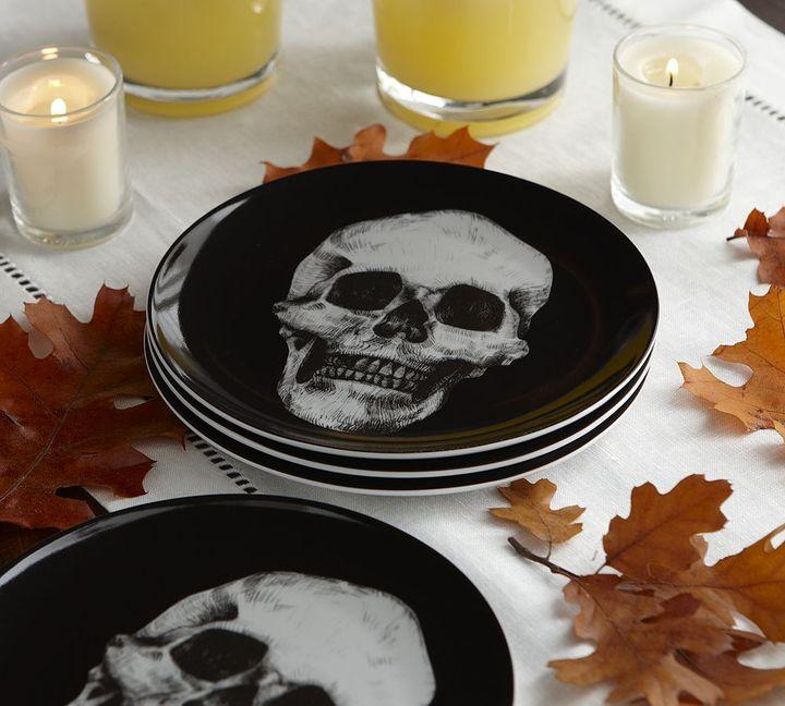 Skull Appetizer Plate