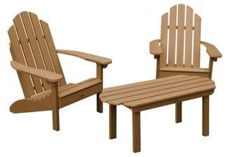 Adirondack highwood® 2 Classic Westport Chairs, 1 Classic Westport Coffee Table