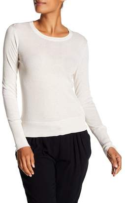 James Perse Long Sleeve Cotton Crew Sweater